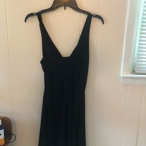 Simple black dress (Shown on right)